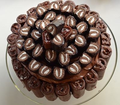 HoHos Coffee Chocolate Cake